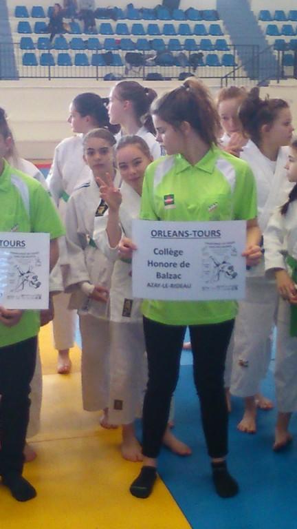 Championnat de France UNSS à Nevers - Judo Club Ridellois
